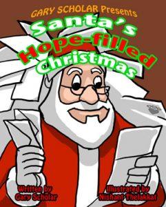 santa hope filled christmas